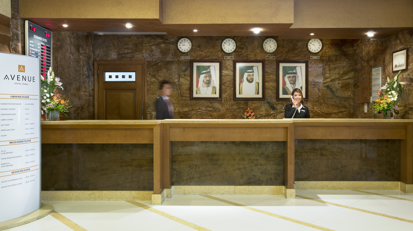 Avenue Hotel Dubai - Contact